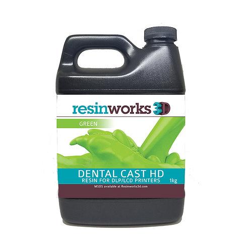 Фотополимерная смола Resinworks3d Dental Cast HD купить в Украине