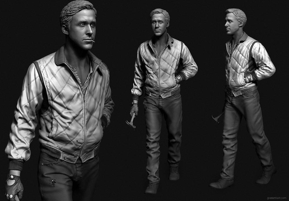 3д моделирование персонажей