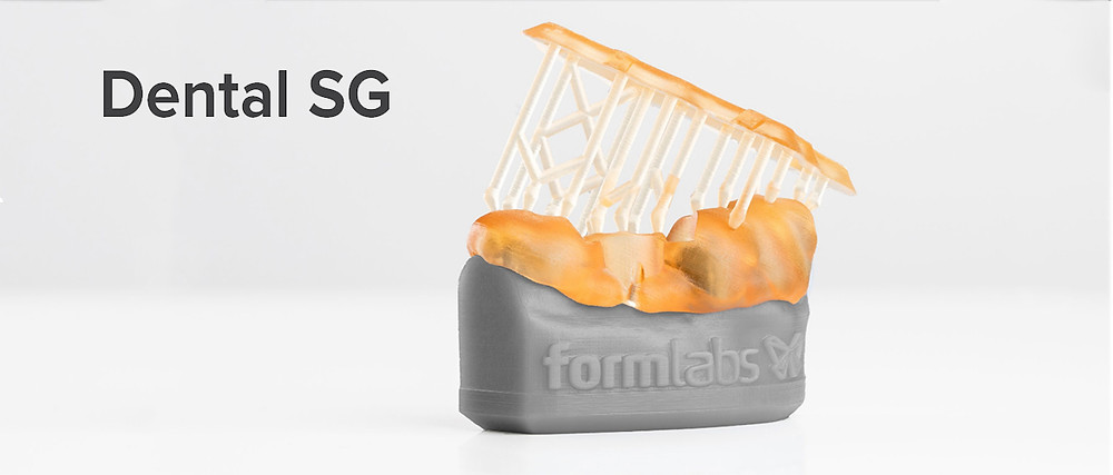Технические характеристики фотополимерной смолы Formlabs Dental SG