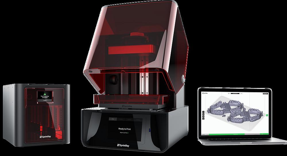 Стоматологический 3D принтер SprintRay Pro купить в Украине