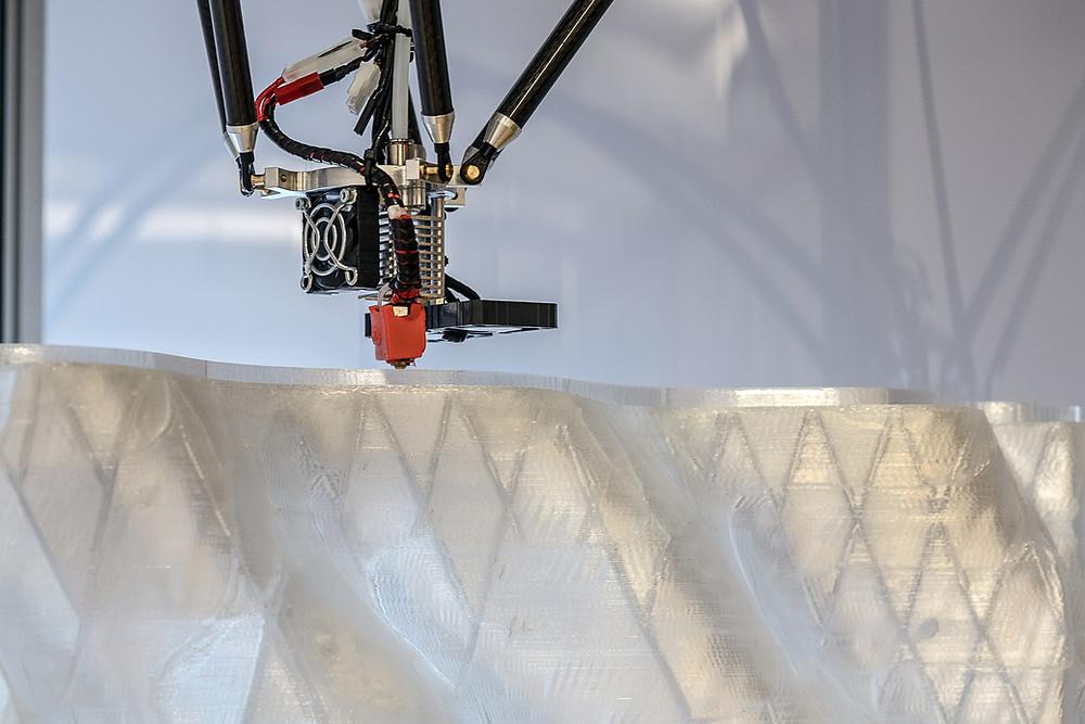 Фасад напечатанный на 3д принтере