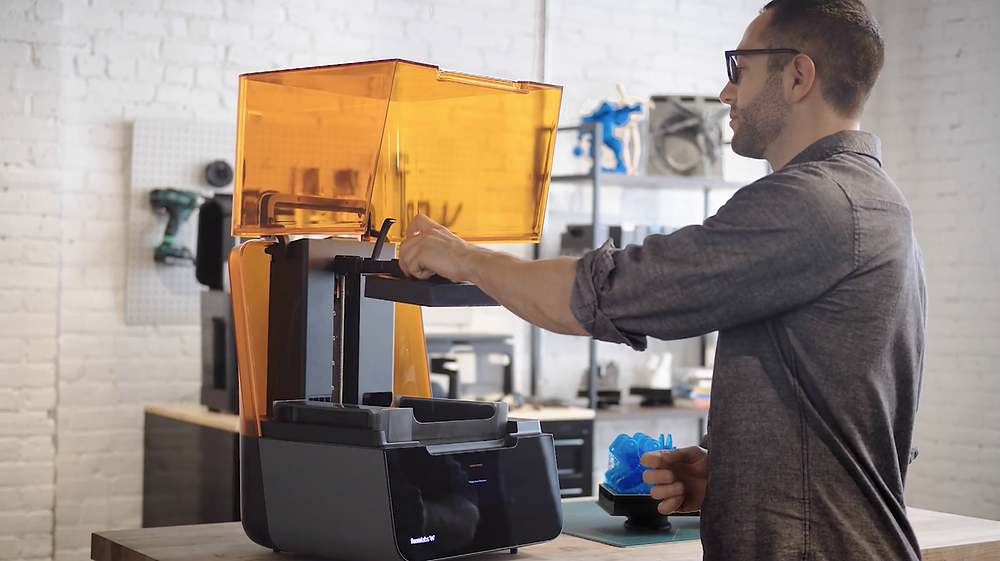 3D-печать на Formlabs Form 3