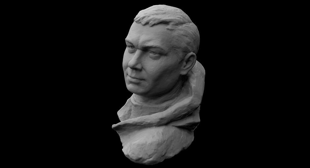 3d сканирование памятника скульптуры