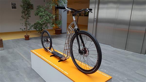 Скутер напечатанный на 3д принтере