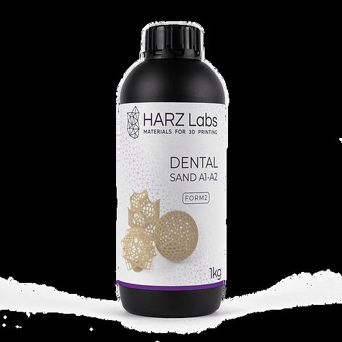 Фотополимерная смола Harz Labs Dental Sand A1-A2 Form2