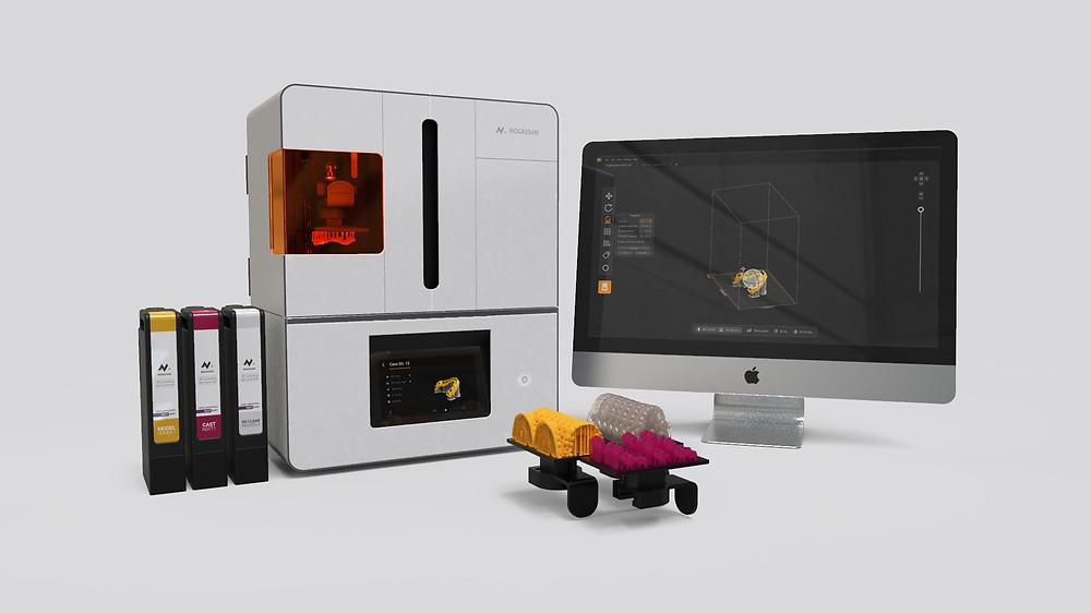 Mogassam представляет DentCase для стоматологической 3D-печати