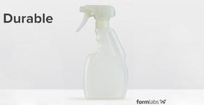Технические характеристики фотополимерной смолы Formlabs Durable
