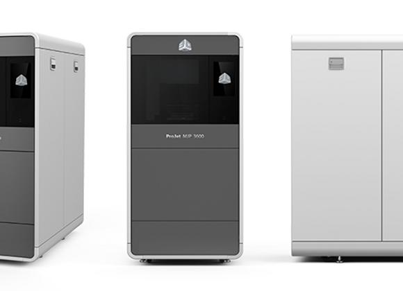 3D принтер 3D Systems ProJet MJP 3600 Series