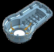3D скан и CAD  3D Модель