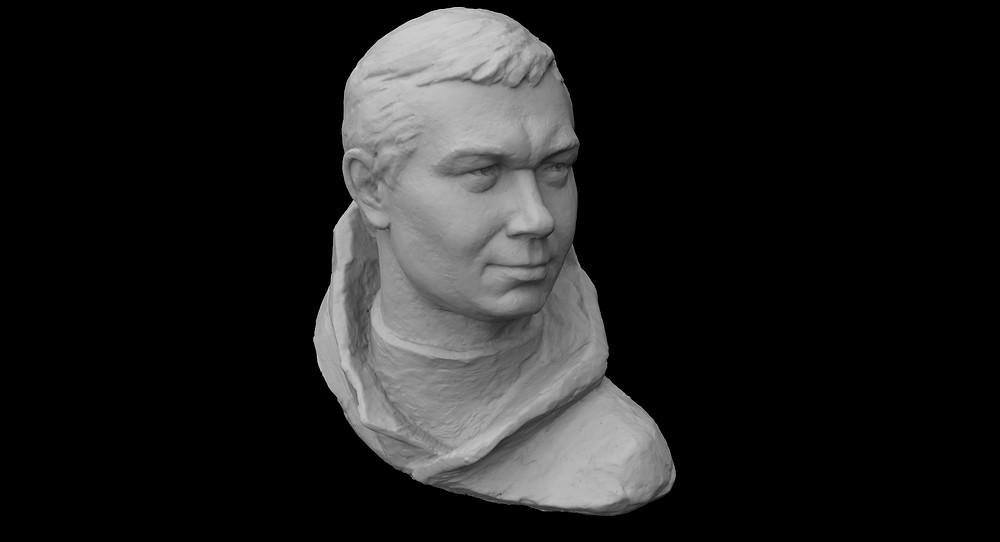 3d сканирование бюста 3д сканирование бюста 3d сканирование памятника
