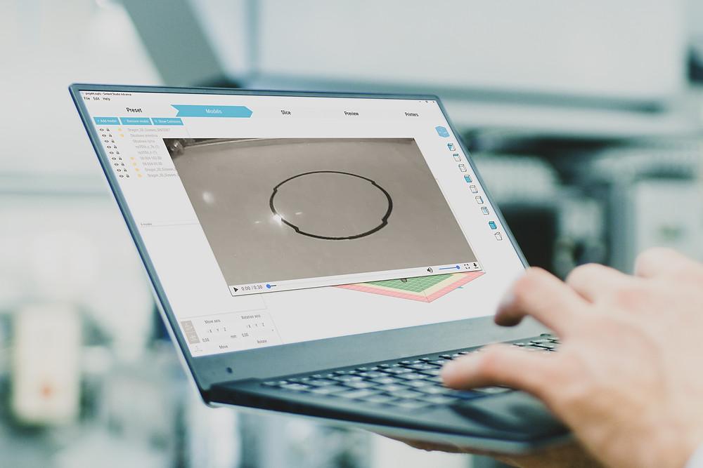 Sinterit обновляет программное обеспечение для улучшения SLS 3D-печати