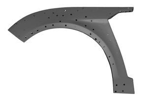 3д сканирование расширений передних арок на Ford Mondeo