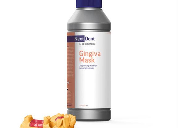Фотополимерная смола NextDent Gingiva Mask купить в Украине, цена