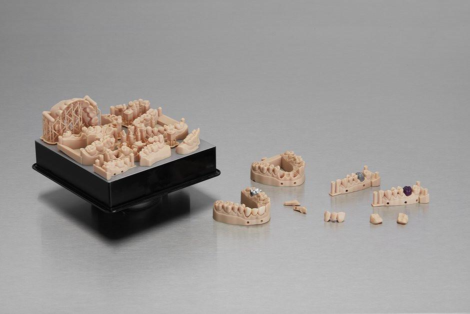 Стоматологические модели для протезирования напечатаны с помощью Dental Model