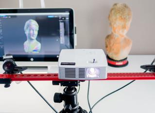 Обзор 3d сканера структурированного света HP PRO S3