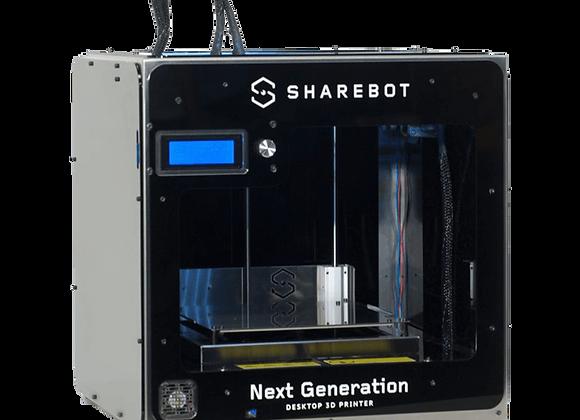 3D принтер Sharebot NG купить в Украине, цена, обучение