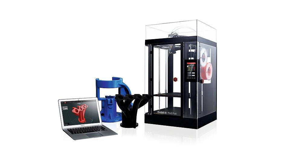 Обзор 3d принтера Raise3D Pro 2 Plus