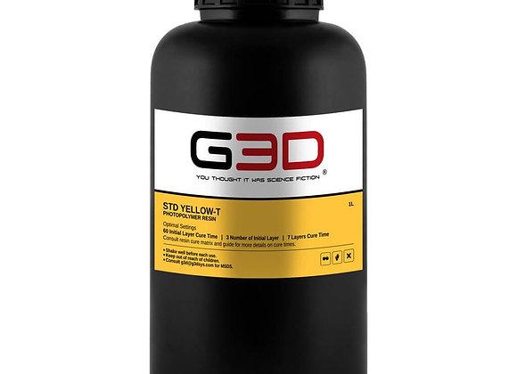 Фотополимерная смола G3D STD Yellow-T купить в Украине, цена