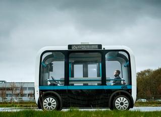 Автономные автобусы Olli изготовленные с помощью 3d печати на дорогах штата Сакраменто