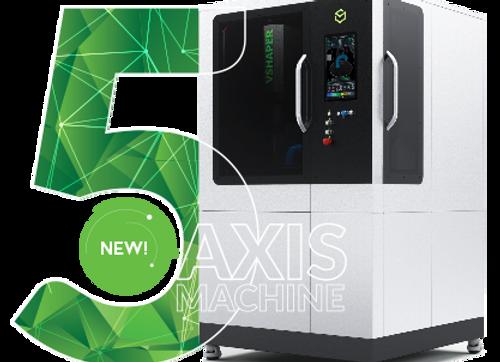 3D принтер VSHAPER 5-AXIS купить в Украине, цена, обучение