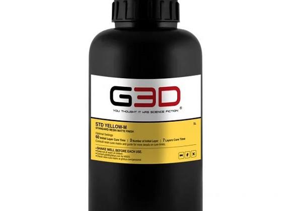 Фотополимерная смола G3D STD Yellow-M купить в Украине, цена