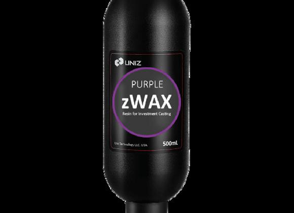 Фотополимерная смола Uniz zWAX Purple