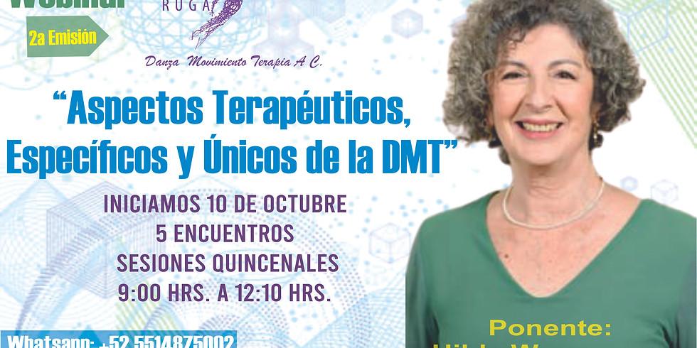 Webinar Aspectos Terapéuticos Específicos y Únicos de la DMT 2a Edición