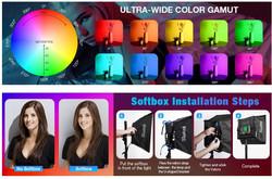 RGB color selection