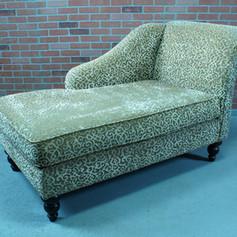 jungle print chaise lounge