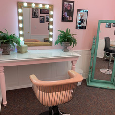 Hair and Makeup Room