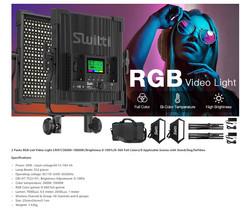 RGB Video Lights