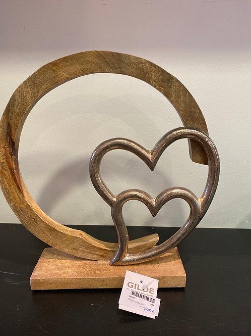 Statue cœur