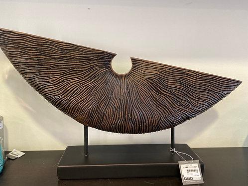 Sculpture ethnique brun