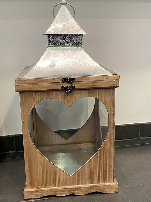 Lanterne cœur petit