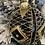 Thumbnail: Boule de Noël noir et or