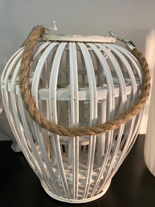 Lanterne bombe blanc