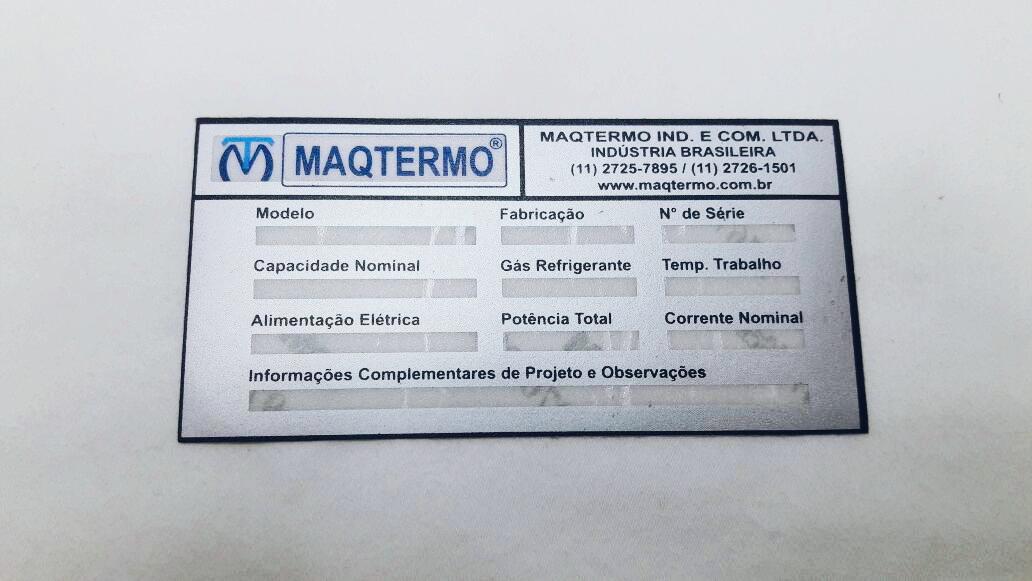 Etiqueta alumínio
