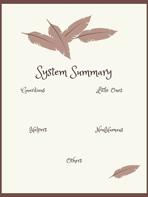 System Summary - Feathers