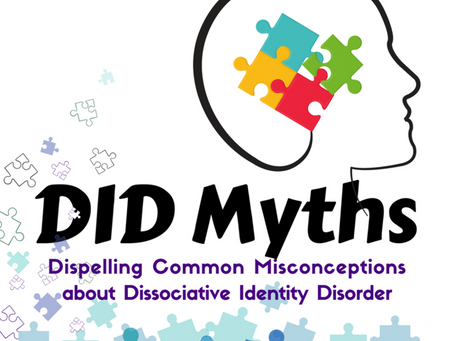 Guest Post - DID Myths and Misconceptions
