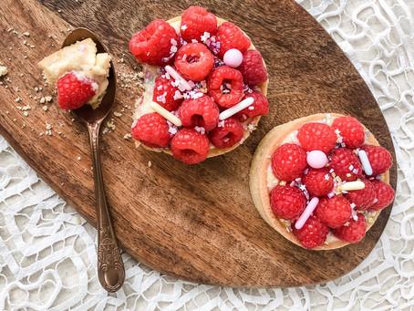 Owocowe tarty z kremem waniliowym
