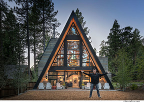Todd mather a-frame on the west shore of tahoe