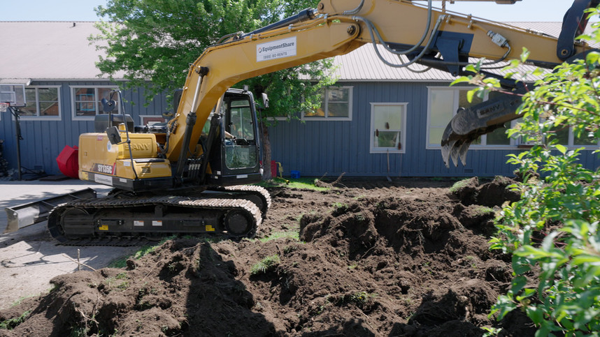 Breaking ground at the Downtown Truckee Park