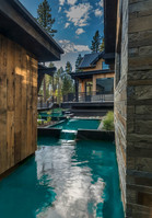 Home pool, unique home water feature lake tahoe