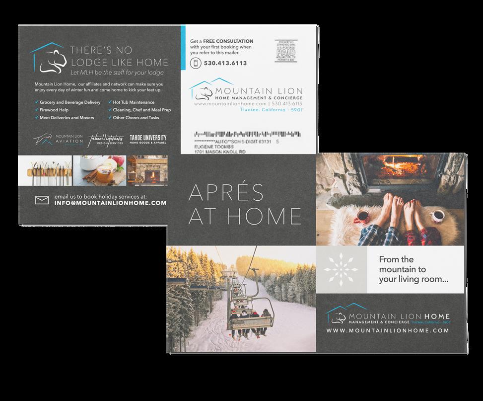 Apres ski direct mailer