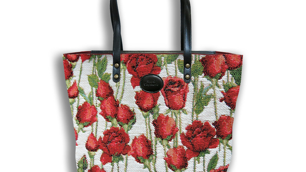 Tote Bag Tapestry Roses