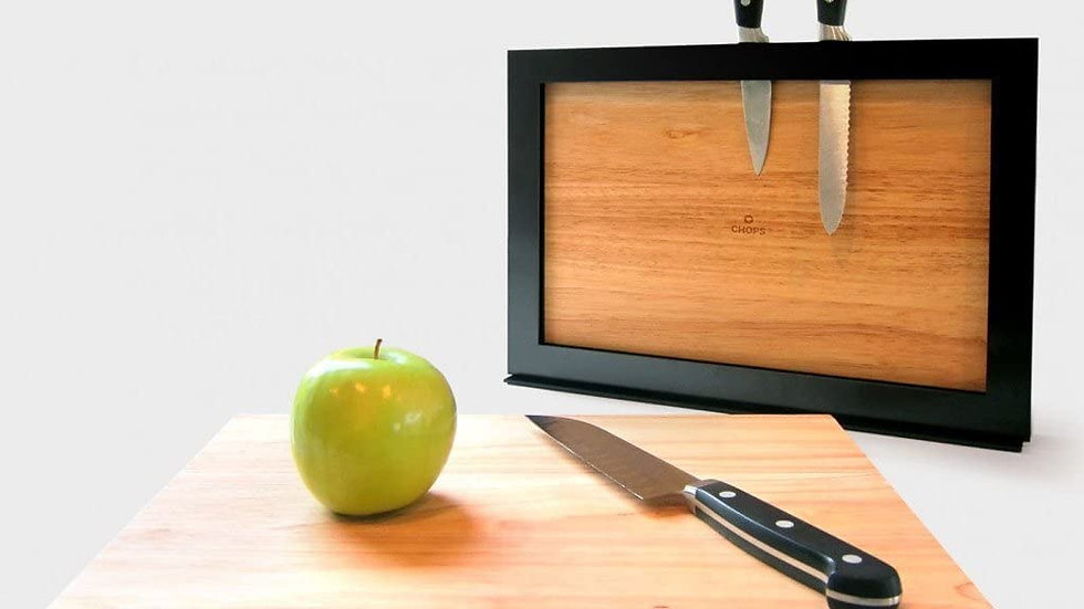 ILoveHandles Chops Cutting Board - Magnetic Cutting Board, Drying Rack/Holder,