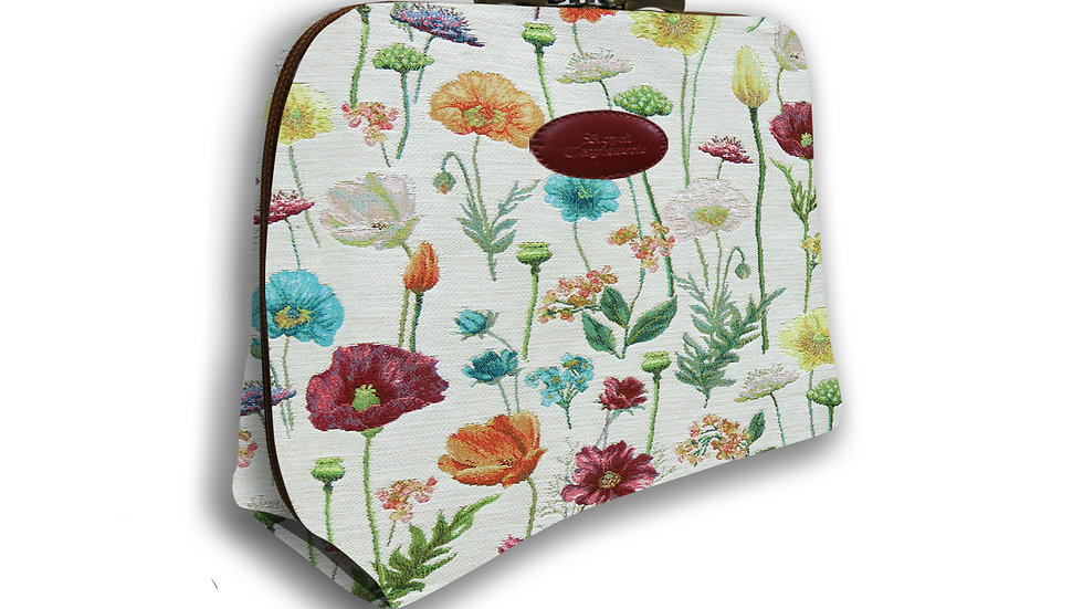 Weekend Zip Pouch Flowers