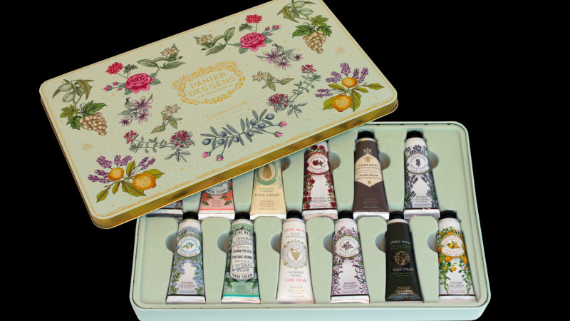 12 Hand creams Collector Coffret