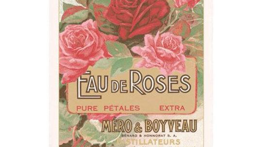 Eau de Roses Tea Towel by Torchons et Bouchons