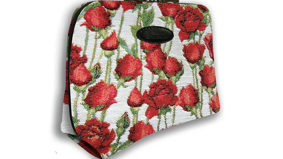 Weekend Zip Pouch Roses
